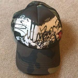 Camo billabong hat